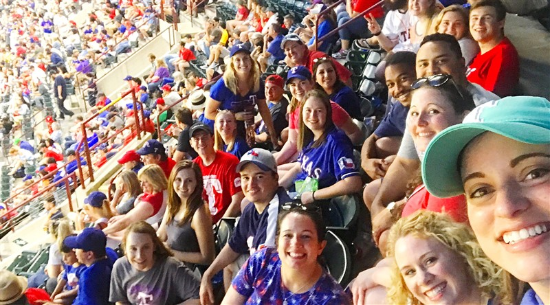 Young Adults | Rangers vs. Astros Game